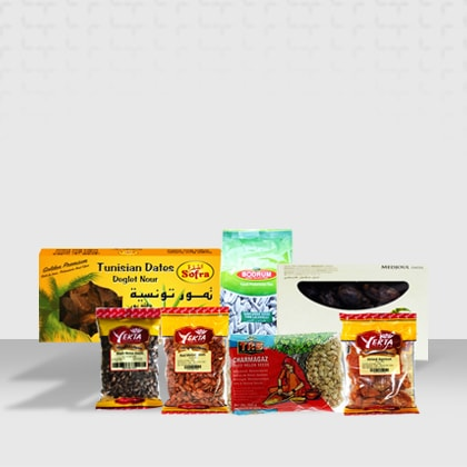 Shop Our dried fruits and nuts