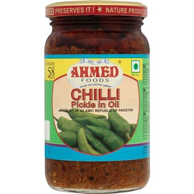 Ahmed Chilli Pickle In Oil 330g