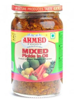 Ahmed Mixed Pickle In Oil Hydrebadi Taste 330g