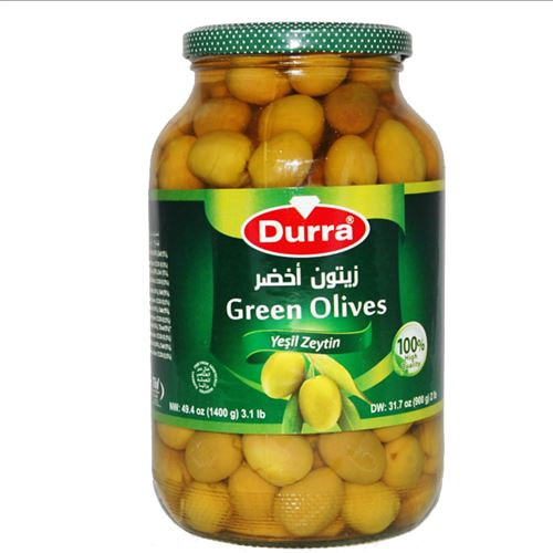 Durra - Green Olives 1400g