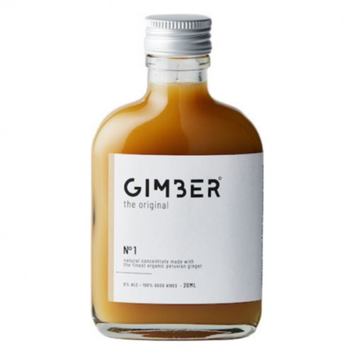 Gimber the original made with the finest organic Peruvian ginger alcohol free 500ml