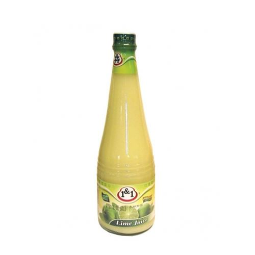 1&1 Lime Juice 630ml