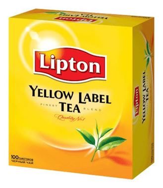 Lipton Yellow Label Tea 100 Tea Bags