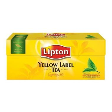 Lipton Yellow Label Tea 25 Tea Bags