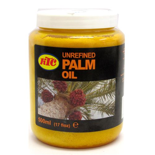 KTC Unrefined Palm Oil 500ml