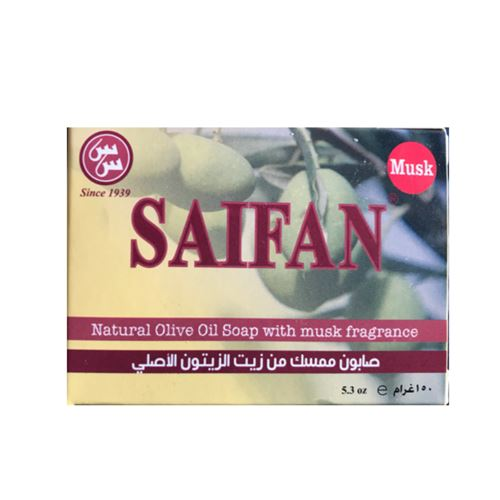 Saifan - Olive oil with musk fragrance soap