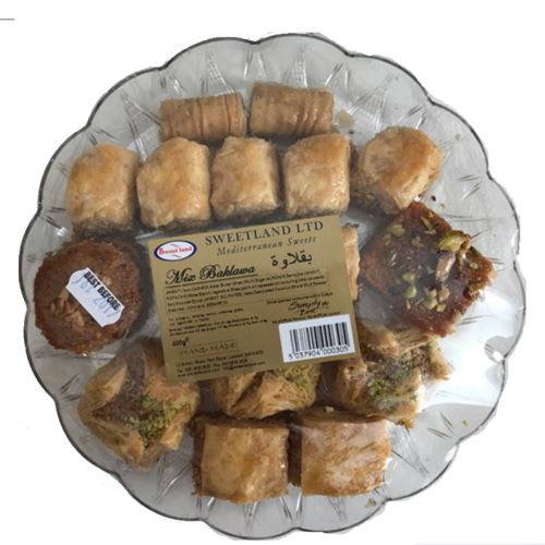 Delicious Assorted baklava mix 400g