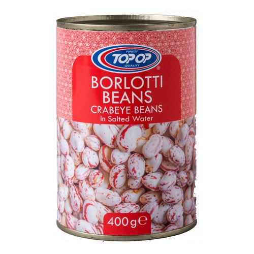 Top Op - Borlotti Beans in salted water