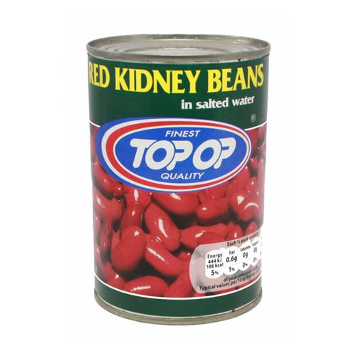 Top Op - Red Kidney beans in salted water
