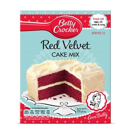 Betty Crocker - Red Velvet Cake Mix