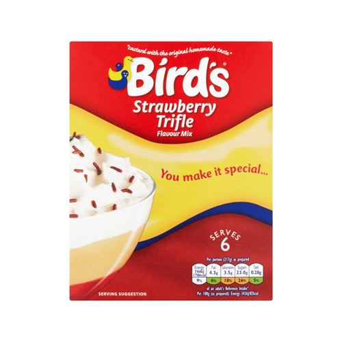 Bird's - Strawberry Trifle Flavour Mix