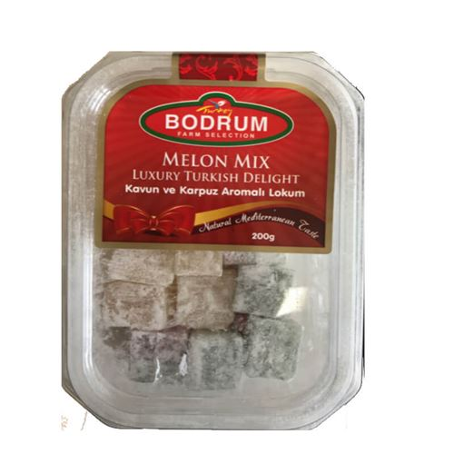 Bodrum - Melon mix luxury Turkish delight