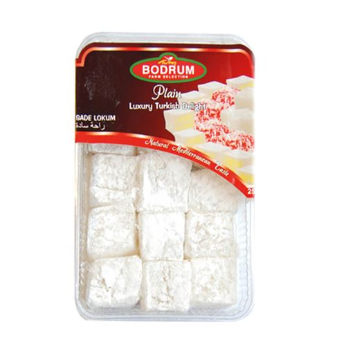 Bodrum - Plain luxury Turkish delight 200g