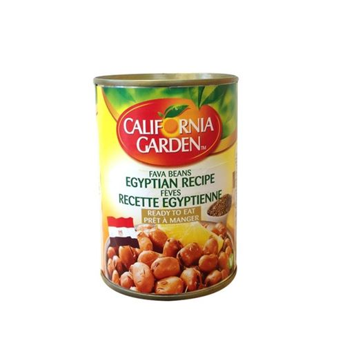 California garden - Fava beans Egyption recipe