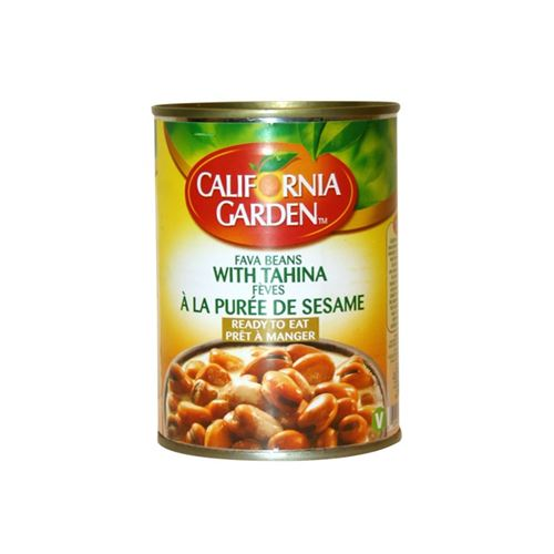 California Garden - Fava beans with tahina