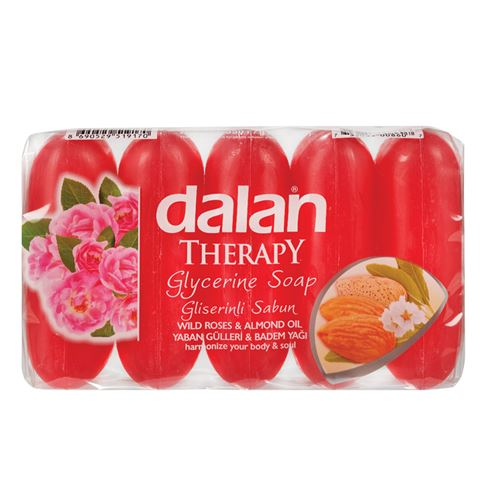 Dalan - Therapy glycerine soap wild roses & almond oil