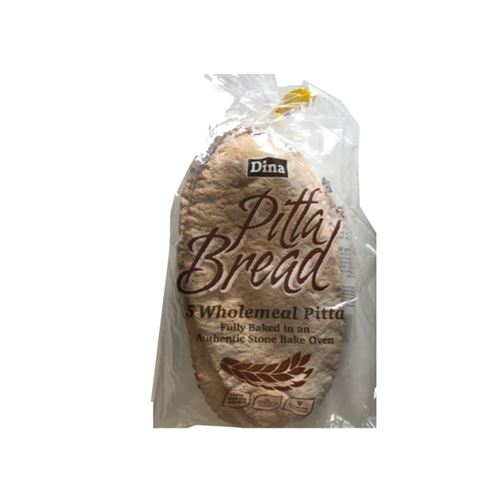 Dina - Pitta bread 5 wholemeal pitta
