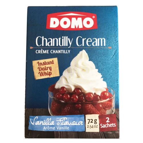 Domo - Chantilly cream 72g