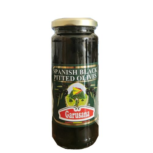 Garusana - Spanish black pitted olives