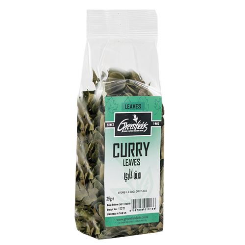 Green Fields - Curry Leaves 25g
