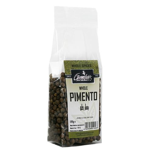 Green Fields - Whole Pimento 100g