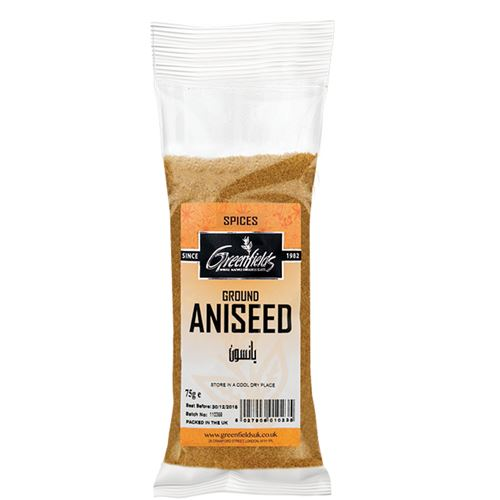 Green Fields - Ground Aniseed 75g