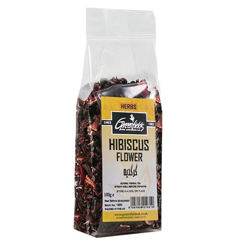 Green Fields - Hibiscus Flower 100g