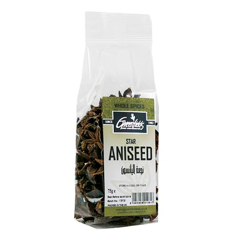 Green Fields - Whole Star Aniseed 75g