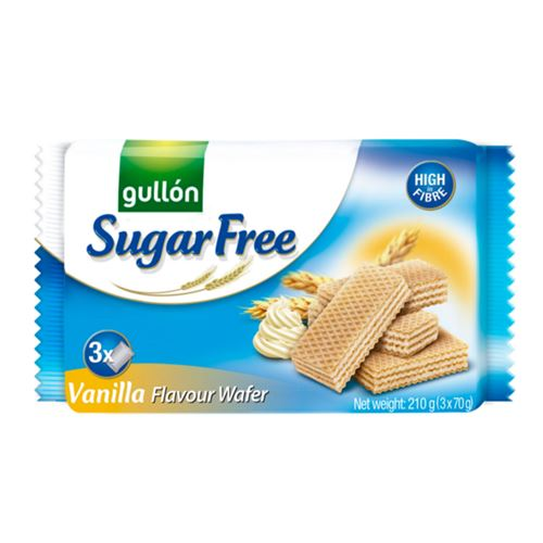 Gullon - Sugar free vanilla flavour wafer