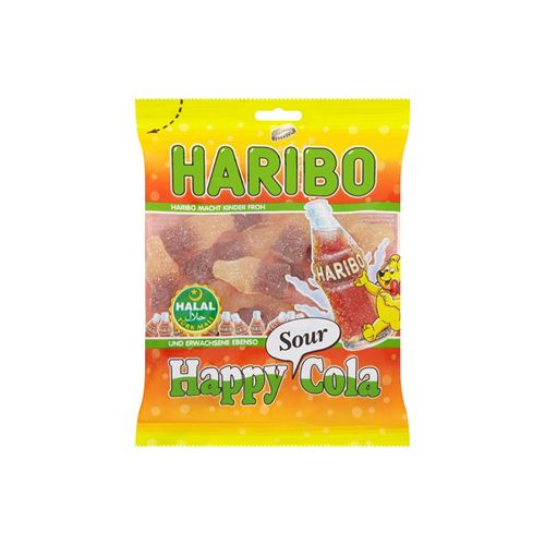 Haribo Halal - Happy Cola (Sour Fresh)