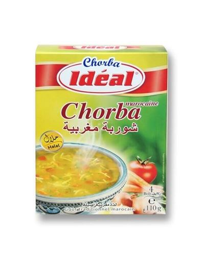 Ideal - Vegetable Moroccan Soup