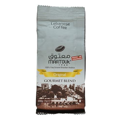 Maatouk - original gourmet blend brazilian arabica coffee 200g