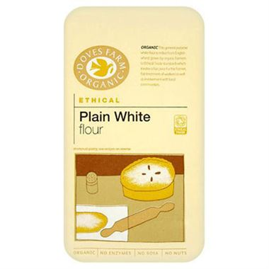 Organic Plain White Flour - Doves Farm