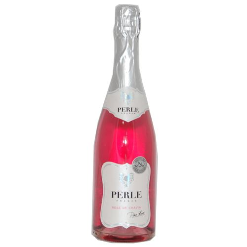 Perle France - Rose De Chavin alcohol free wine halal certified 750ml