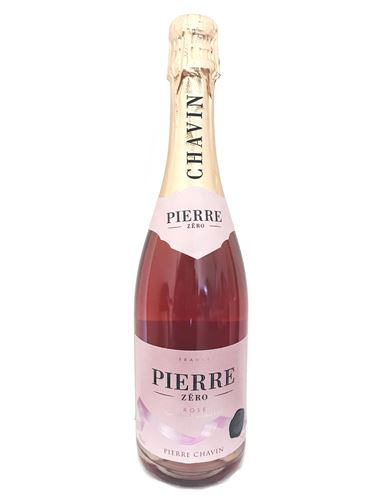 PIERRE ZERO - Beverage made from dealcoholised sparkling rose wine