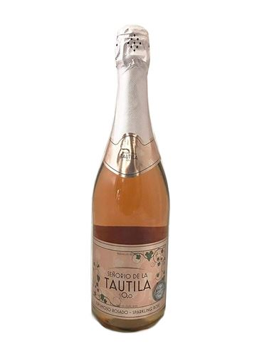 Senorio de la tautila Non Alcoholic halal certified Sparkling Rose Grape Beverage