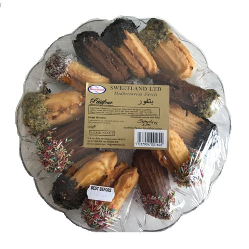 Assorted Petitfour Biscuits 400g