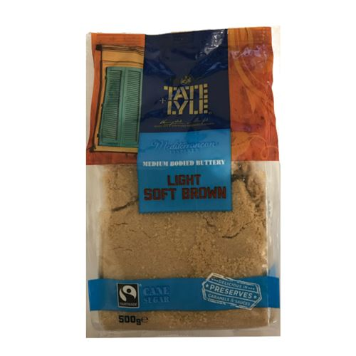 Tate and lyle - Fairtrade Light soft brown sugar 500g
