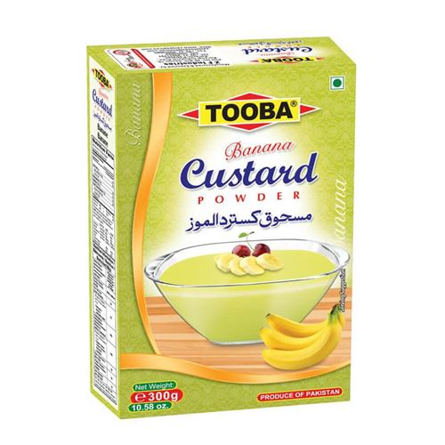 Tooba - Banana custard powder