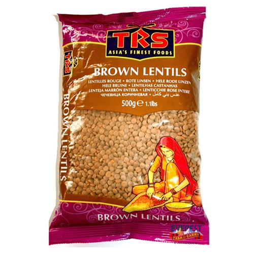 Whole Brown Lentils - TRS