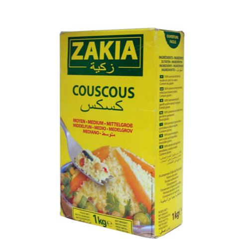Zakia - Couscous medium 1kg